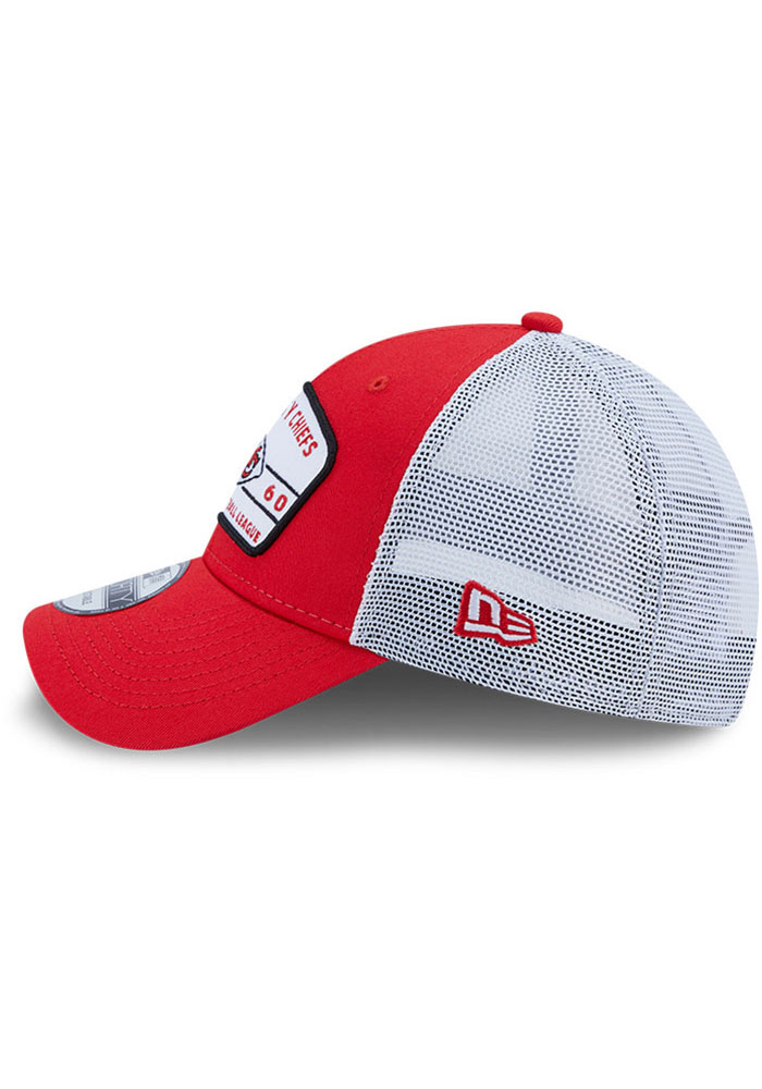 New Era Kansas City Chiefs Loyalty 9FORTY Adjustable Hat - Red - Image 4