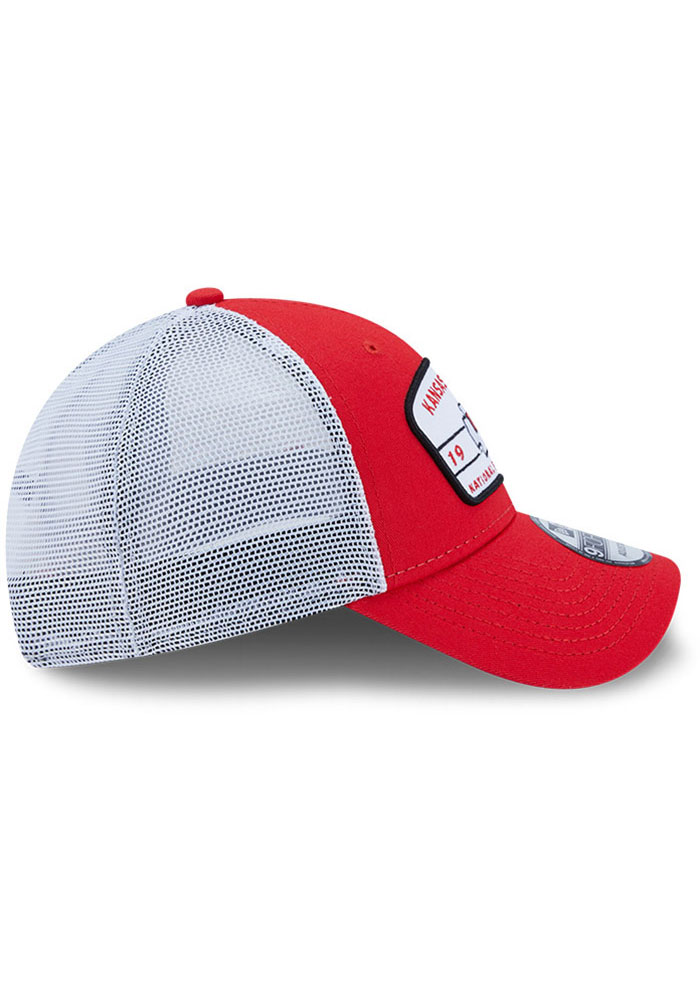 New Era Kansas City Chiefs Loyalty 9FORTY Adjustable Hat - Red - Image 6