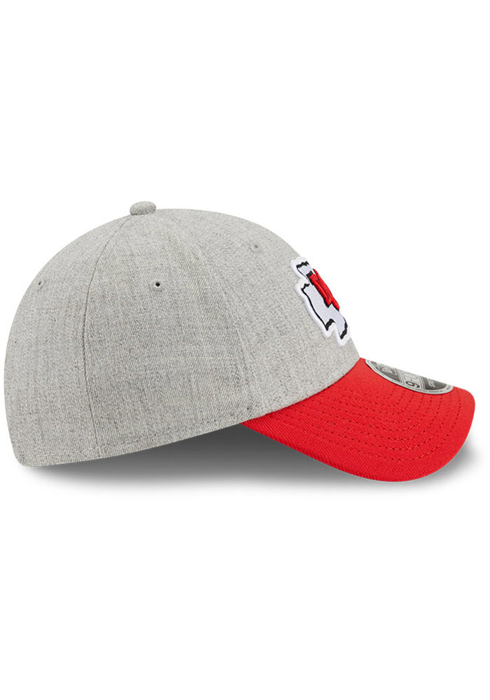 New Era Kansas City Chiefs Grey JR The League Heather 9FORTY Youth Adjustable Hat - Image 6