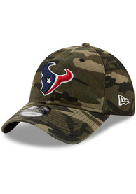 Houston Texans New Era Core Classic 9TWENTY Adjustable Hat - Green