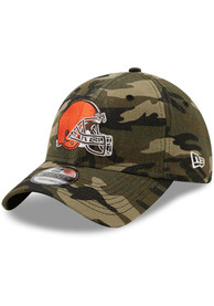 Cleveland Browns New Era Core Classic 9TWENTY Adjustable Hat - Green
