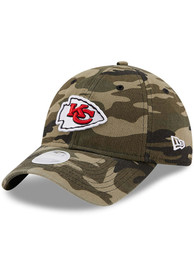 Kansas City Chiefs Womens New Era W Core Classic 9TWENTY Adjustable - Green