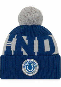 Indianapolis Colts New Era 2020 Sideline Sport Knit - Blue