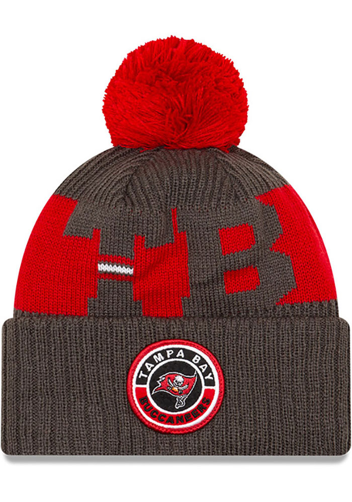 Tampa Bay Buccaneers New Era 2020 Sideline Sport Knit - Red