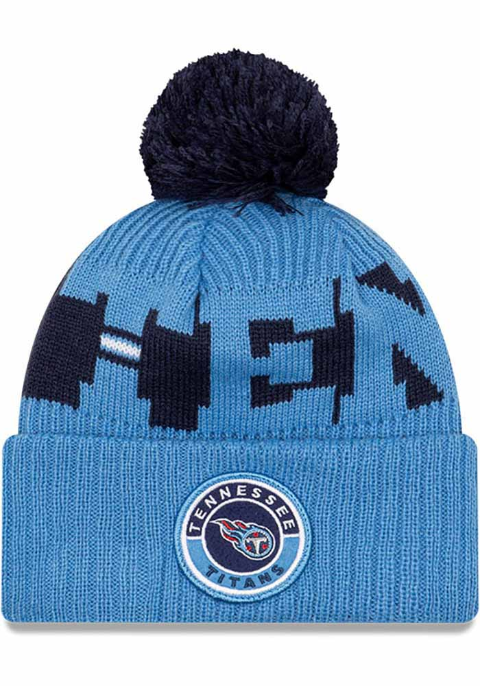 Tennessee Titans New Era 2020 Sideline Sport Knit - Navy Blue