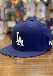 New Era Los Angeles Dodgers Mens Blue QT Pink Undervisor 59FIFTY Fitted Hat