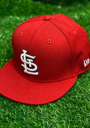 St Louis Cardinals New Era QT Pink Undervisor 59FIFTY Fitted Hat - Red