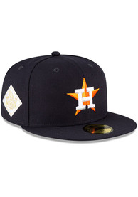 Houston Astros New Era QT World Series Side Patch 59FIFTY Fitted Hat - Navy Blue