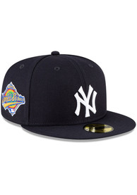 New York Yankees New Era QT World Series Side Patch 59FIFTY Fitted Hat - Navy Blue