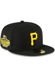 Pittsburgh Pirates New Era QT World Series Side Patch 59FIFTY Fitted Hat - Black
