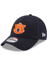 Auburn Tigers New Era The League 9FORTY Adjustable Hat - Navy Blue
