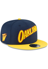 Golden State Warriors New Era 2020 Official City Series 9FIFTY Snapback - Navy Blue