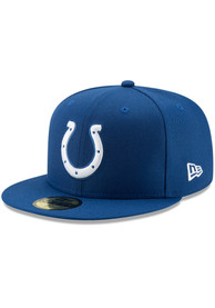 Indianapolis Colts New Era Basic 59FIFTY Fitted Hat - Blue