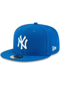 New York Yankees New Era Basic 59FIFTY Fitted Hat - Blue