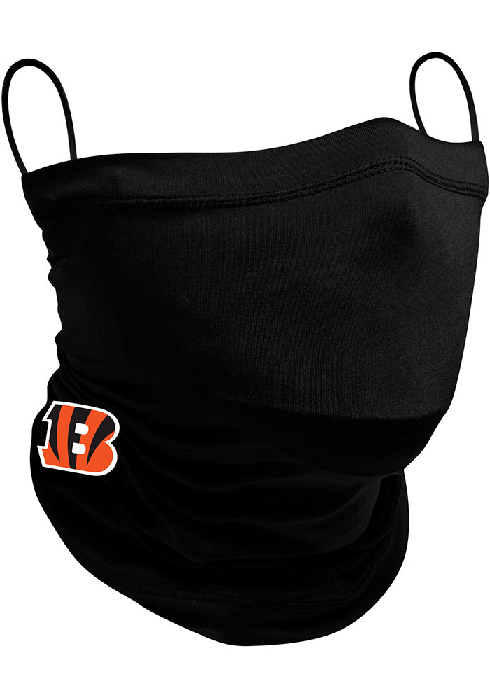 New Era Cincinnati Bengals Black Fan Mask - Black
