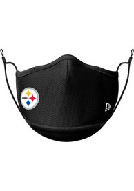 Pittsburgh Steelers New Era Black Fan Mask - Black