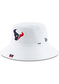 Houston Texans New Era 2019 Training Camp Bucket Hat - White
