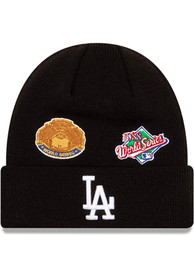 Los Angeles Dodgers New Era Lifestyle Pack 2.0 Champ Cuff Knit - Black