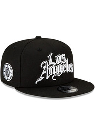 Los Angeles Clippers New Era 2020 Official City Series 9FIFTY Snapback - Black