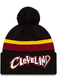 Cleveland Cavaliers New Era 2020 Official City Series Cuff Knit - Black