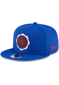 Detroit Pistons New Era 2020 Alt City Series 9FIFTY Snapback - Blue