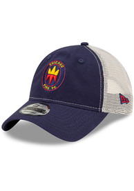 Chicago Fire New Era Casual Classic Meshback Adjustable Hat - Navy Blue