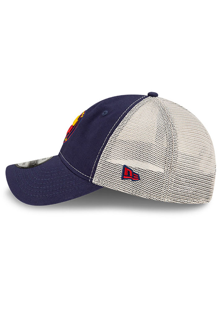 New Era Chicago Fire Casual Classic Meshback Adjustable Hat - Navy Blue - Image 4