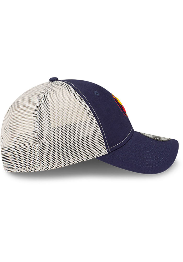 New Era Chicago Fire Casual Classic Meshback Adjustable Hat - Navy Blue - Image 6