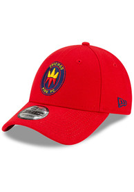 Chicago Fire New Era Secondary 9FORTY Adjustable Hat - Red