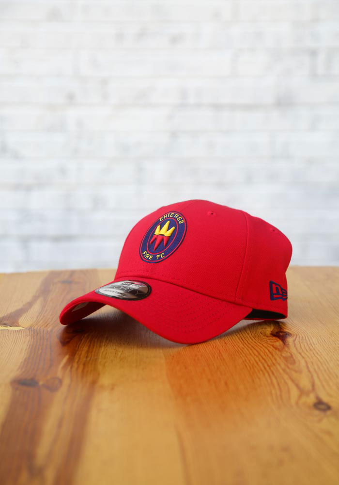 New Era Chicago Fire Secondary 9FORTY Adjustable Hat - Red - Image 7