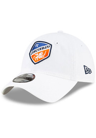 FC Cincinnati New Era Core Classic 9TWENTY Adjustable Hat - White