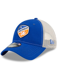 FC Cincinnati New Era Casual Classic Meshback Adjustable Hat - Blue