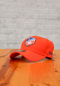 FC Cincinnati New Era Secondary 9FORTY Adjustable Hat - Orange