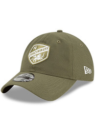 FC Cincinnati New Era Core Classic 9TWENTY Adjustable Hat - Olive