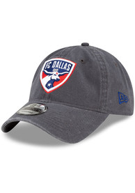 FC Dallas New Era Core Classic 9TWENTY Adjustable Hat - Grey
