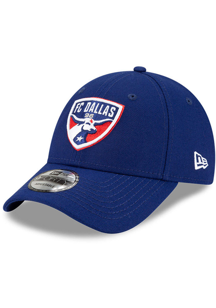 FC Dallas New Era Secondary 9FORTY Adjustable Hat - Blue