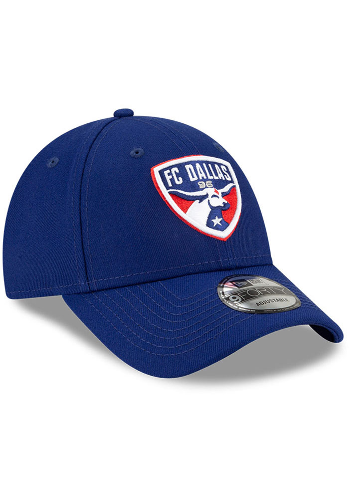 New Era FC Dallas Secondary 9FORTY Adjustable Hat - Blue - Image 2