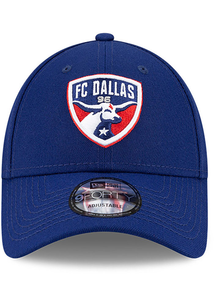New Era FC Dallas Secondary 9FORTY Adjustable Hat - Blue - Image 3
