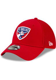 FC Dallas New Era Team Neo 39THIRTY Flex Hat - Red