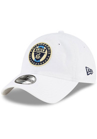 Philadelphia Union New Era Core Classic 9TWENTY Adjustable Hat - White