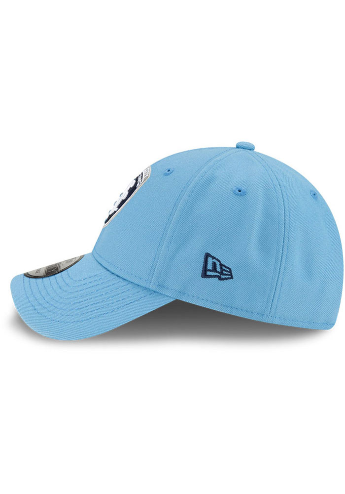 New Era Sporting Kansas City Secondary 9FORTY Adjustable Hat - Light Blue - Image 4