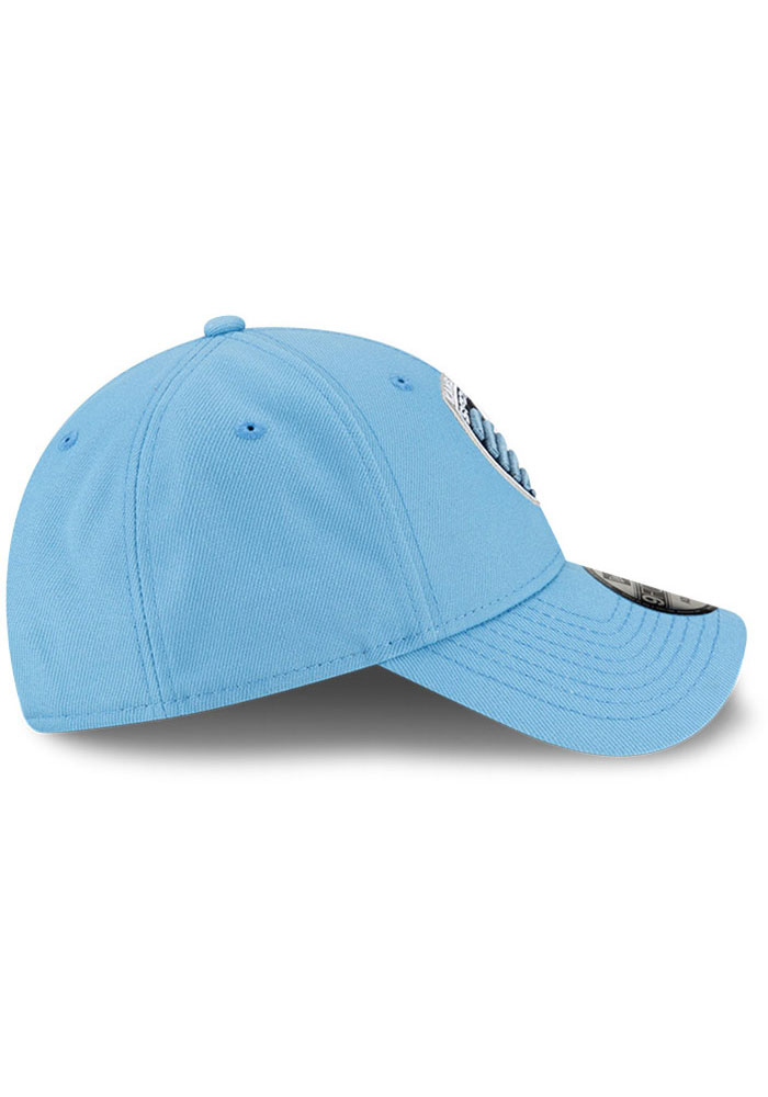 New Era Sporting Kansas City Secondary 9FORTY Adjustable Hat - Light Blue - Image 6