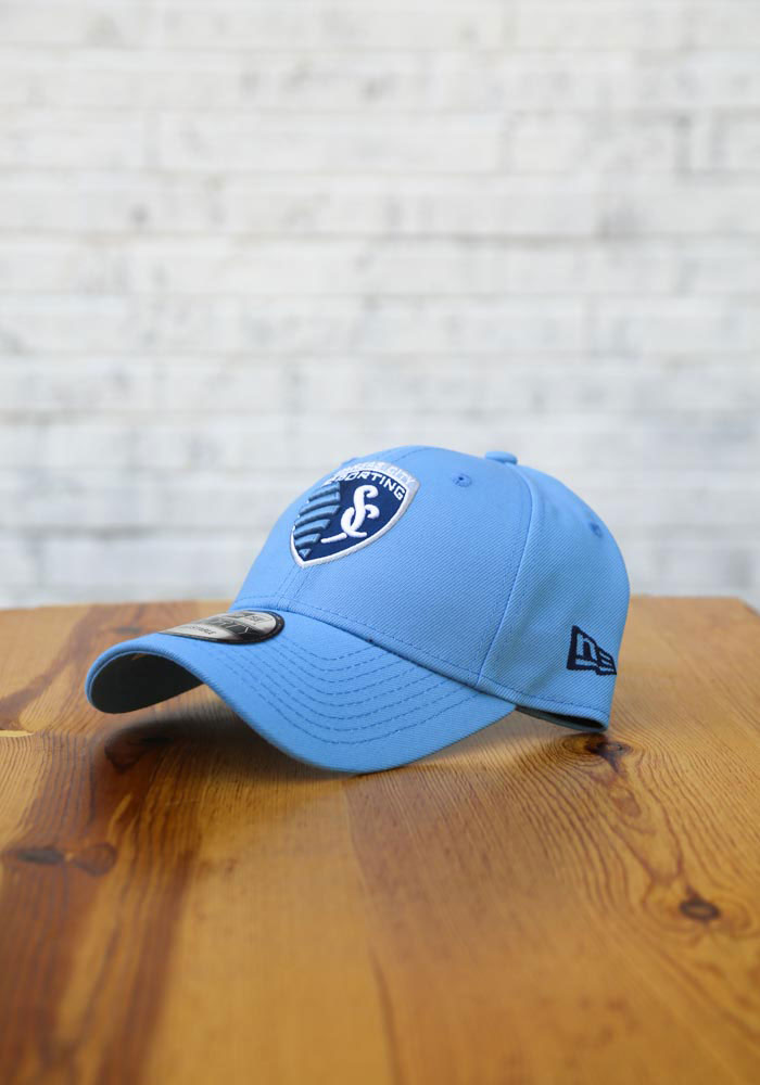 New Era Sporting Kansas City Secondary 9FORTY Adjustable Hat - Light Blue - Image 7