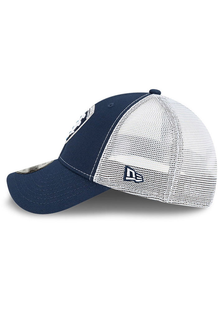 New Era Sporting Kansas City Team Truckered 9FORTY Adjustable Hat - Navy Blue - Image 4