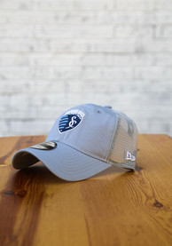 Sporting Kansas City New Era Casual Classic Meshback Adjustable Hat - Grey
