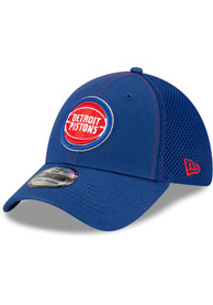 Detroit Pistons New Era Team Neo 39THIRTY Flex Hat - Blue