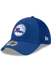 Philadelphia 76ers New Era Team Neo 39THIRTY Flex Hat - Blue
