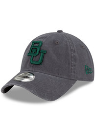 Baylor Bears New Era Core Classic 9TWENTY Adjustable Hat - Grey