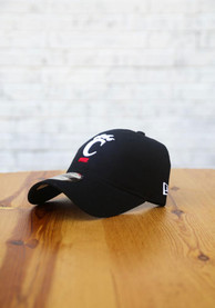 Cincinnati Bearcats New Era Core Classic 9TWENTY Adjustable Hat - Black