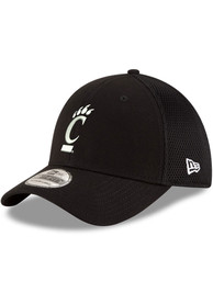 Cincinnati Bearcats New Era and White Neo 39THIRTY Flex Hat - Black